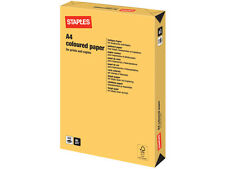 500 SHEETS / 1 REAM A4 INTENSIVE GOLD COLOURED PAPER 80 GSM + FREE 24H DEL