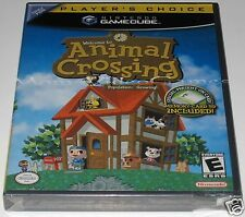 Animal Crossing (Nintendo,GameCube) .. Brand NEW!! y-folds!