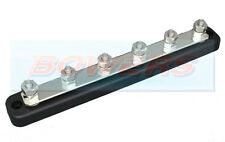 12V/24V 6 WAY POWER DISTRIBUTION BUS BAR 6x6mm STUDS 150A RATED AUTO MARINE BOAT