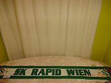 "SK Rapid Wien Ultra Seiden Fan Schal ""SK RAPID WIEN"" ""GREEN TEAM"" TOP"
