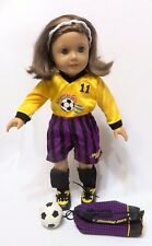 Retired 1996-2001 American Girl Doll SOCCER GEAR Outfit GSOD