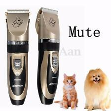 Professional Grooming Kit Animal Pet Cat Dog Hair Trimmer Clipper Shaver Set AZ
