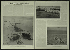 Forgotten Islands Essex Archipelago Wallasea Foulness 1958 2 Page Photo Article