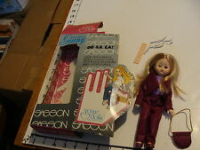 vintage doll in box: oo la la Sasson--purple clothes