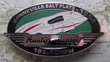 Quality Never Fitted Heavy Chrome Car Mascot Badge : 1954 Bonneville Salt Flats