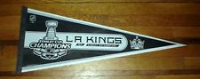LOS ANGELES LA KINGS 2014 NHL STANLEY CUP CHAMPS CHAMPIONS PENNANT BANNER