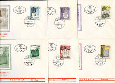 Austria 1965 Wipa Stamp Exhibition FDC First Day Cover Set #C23745
