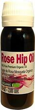 PURE ORGANIC  Rose Hip Oil - Aceite de Rosa Mosqueta 2.03oz / 60ml