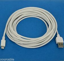 3M 10ft LONG THICK Fast Charger ONLY USB Cable WHITE for iPad Pro Air 2 4 mini 3