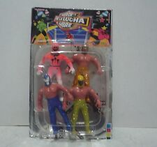 Mexican Lucha libre Toy - Wrestler Package Of 4 - Figures Plastic Made In Mexico