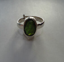Lab Certified Natural 11.25 Ratti Green Tourmaline Ring In Panchdhatu Metal