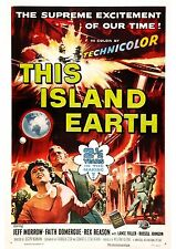 This Island Earth - Jeff Morrow - A4 Laminated Mini Poster