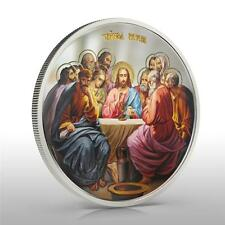 Niue 2012 $2 Icon The Last Supper 1 Oz Silver Coin VERY RARE and LIMITED!!!