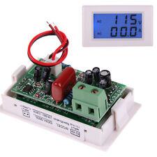 Digital AC 80-300V 100A Ammeter Voltmeter Dual LCD Display Volt Amp Panel Meter