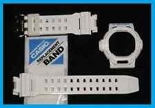 Casio G-SHOCK riseman gw9200 pj7 g9200 Bianco Strap Band & Lunetta SHELL COVER