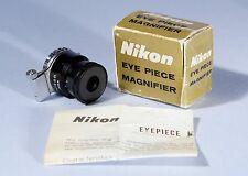 Nikon Eye Piece Magnifier 2x per F Series SLR 35mm FOTOCAMERA... Boxed... MINT...