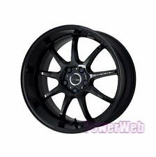 WORK EMOTION D9R 18x7.5 5-100 +53 +47 BLK JDM WHEEL 18 *1rim price