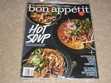 HOT SOUP * SWEET COMFORTS * FAMILY DINNER March 2013 BON APPETIT MAGAZINE NEW