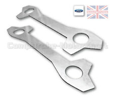 Brake Caliper Locking Tabs Ford Escort MK1 MK2 Capri (Stainless steel) CMB0004-E