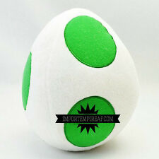 SUPER MARIO BROS. UOVO YOSHI PELUCHE plush kart island party egg oeuf wii u new