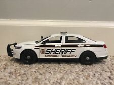 Marion County Tennessee custom sheriff's diecast car Motormax 1:24 scale