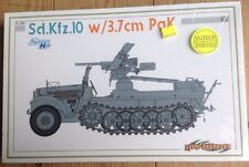 1/35 Cyber Hobby Sd.Kfz.10 w/3.7cm PaK 35/36 LIMITED ED New And Sealed