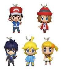 Takara Pokemon Pocket Monsters XY&Z XYZ Deformed Mini figure key chain Set of 5