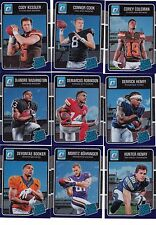 2016 Optic Purple Refractor Rookie Connor Cook #160 Raiders Retail Only