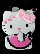 DAISO JAPAN Hello Kitty Cosme Case Black Style for eyelashes nail chips