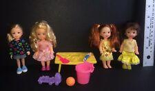 Barbie Toddler Doll Lot of 4 + Accessories - Mattel