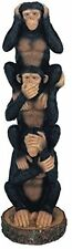 George S. Chen Imports Monkeys See Hear Speak No Evil Collectible Figurine NEW