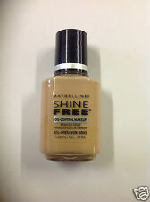 Maybelline Shine Free Oil-Control Makeup Foundation ( SOFT CAMEO  ) NEW.
