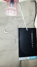 Nike Dri-Fit Golf Pants: 34×32 (NWT) *Beige*