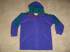 COLUMBIA Women's Small S Double Whammy SKI JACKET winter Coat Purple SHELL ONLY