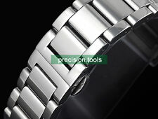 22mm Solid Stainless Steel Deployment Bracelet Watchband For Mont 0414