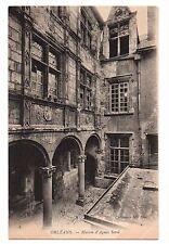 45 - cpa - ORLEANS - Maison d'Agnès Sorel   (C1861)