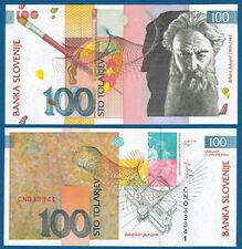SLOWENIEN / SLOVENIA 100 Tolarjev 2003  UNC  P.31
