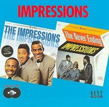 The Impressions/The Never Ending Impressions by The Impressions (CD,...