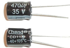 E-Projects - 470uF 50V 105c Radial Electrolytic Capacitor (5 Pcs)