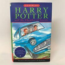 Harry Potter Chamber of Secrets FIRST PRINTING Bloomsbury HC J.K. Rowling RARE