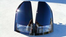 CUSTOM 05-07 Chrysler 300 OEM Smoked Tail Lights black non led Tinted Brake Lamp
