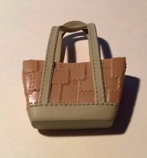 Bratz Light Brown Purse or Tote with Tan Trim (for Full-Size Doll)
