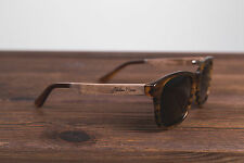 NORTHERN GARMS TORTOISE RAY WAYFARER BAN WOODEN SUNGLASSES 21 UV 400 SUMMER 2016