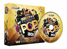 Zoom Karaoke Indie Britpop & Alternative Pop Box Party Pack - 6 CD+G 120 Songs
