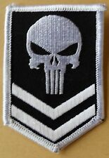 Punisher Corporal Army Rank MilitaryTactical Airsoft Morale Patch Iron on