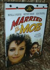 MARRIED TO THE MOB DVD, NEW AND SEALED, RARE EDITION, OSCAR NOMINEE, HILARIOUS!