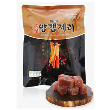 Korea Red Ginseng Red Bean Jelly Health Wellness fatigue recovery snack 180g