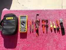 FLUKE 179 *MINT!* TRUE RMS MULTIMETER WITH TONS OF ACCESSORIES!