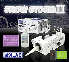 Christmas Snow Storm II Artificial Snow Effects Machine with Remote & Fluid