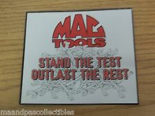MAC TOOLS STICKER FROM THE MAC TOOL GUY FOR TOOL BOX PICKUP OR WHAT EVER   e